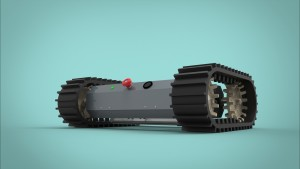 Skiddy All Terrain Mobile Robot with tracks