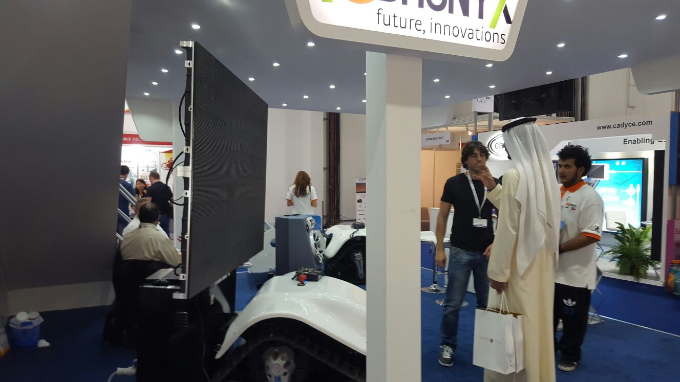 DronyX @GITEX 2015 in Dubai Image