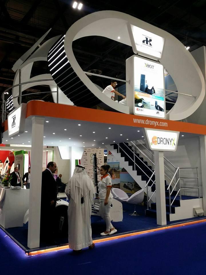 DronyX @GITEX 2015 in Dubai