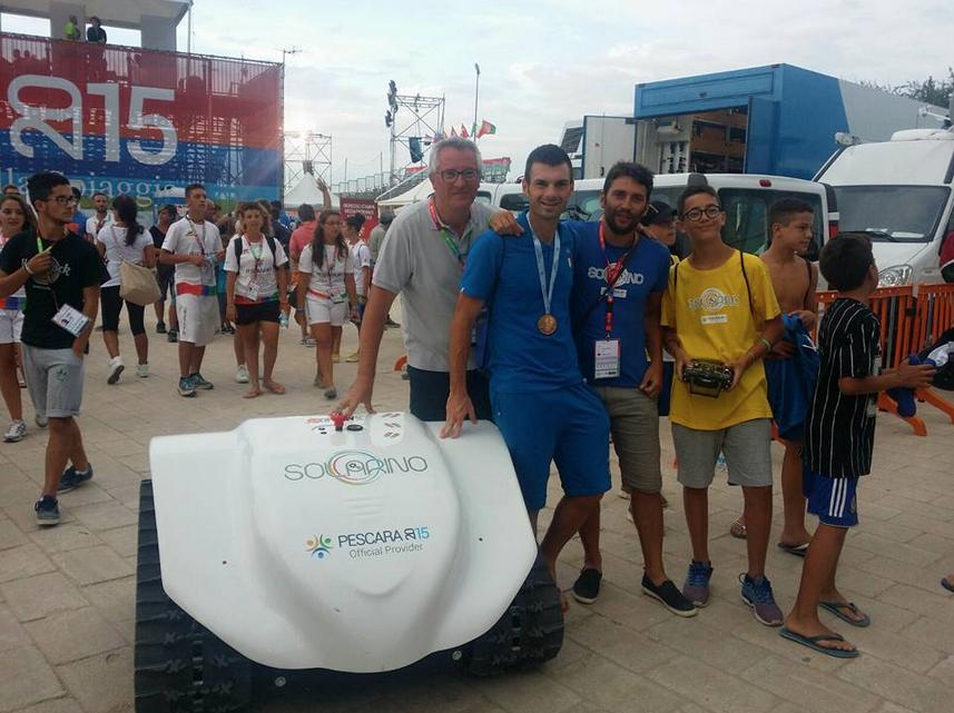 Solarino Festeggia la medaglia d'oro per l'Italia