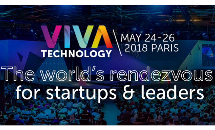 See you at VIVA TECHNOLOGY 2018